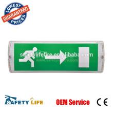 Exit Light by Emergency Lighting & Power Equipment EZXTEU2RWEM