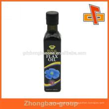 Customized high shrinkage PET/PVC shrink plastic sleeve for bottles