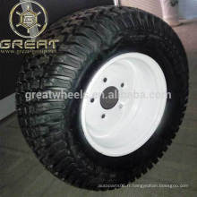 Roues & pneus en acier ATV de 6 pouces