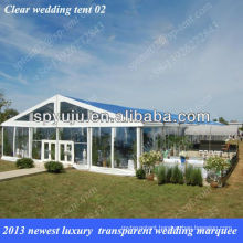 2013 newest luxury transparent wedding marquee tent