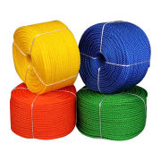 3-strand PE Twisted Rope for Ski Rope, ISO 9001