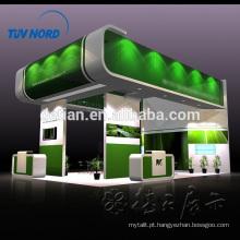 exposição de ilha ficar carrinho de exposição de madeira personalizado aluguel em Xangai