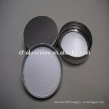 Factory price aluminium jars for cosmetic