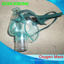 Disposable PVC Nebulizer Oxygen Mask with Nebulizer Volume 6cc