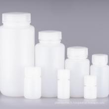 Bouteille de réactif d'apothicaire en verre à large ouverture de 8 ml et 15 ml