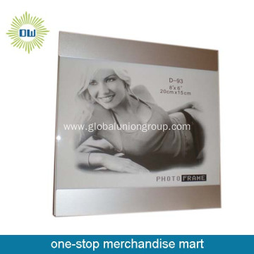 Sexy girl big aluminum photo frame