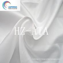 Tissu de lin en tafet polyester 190t 70 G / M