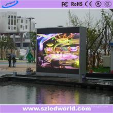 P6 SMD-Eisen-Kabinett LED-Videowand-Anzeige