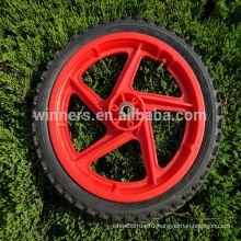 14 inch plastic solid wheel/plastic bicycle wheel