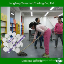 Widely Used Safe Disinfectant Chlorine Dioxide Tablet for Public Environment