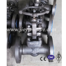 DIN Pn16 Forged Steel P285nh Flanged Gate Valve