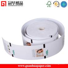 SGS de alta calidad personalizado recibo de cajero automático rollos de papel