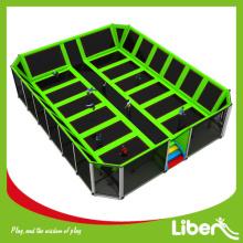 Best trampoline structure indoor elastic trampoline