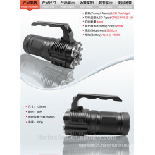 Factory Sale JEXREE Rechargeable 4 x Cree XM-L2 LED 3-Mode 3500 Lumens Portable LED Emergency Lantern Flashlight (4 x 18650)