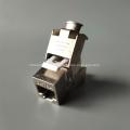 Prise Keystone CAT6A moulée sous pression en zinc