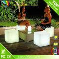 Venda de móveis de LED Cube, Móveis LED ao ar livre, cadeira de cadeira de rodas