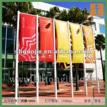 Banners de luz flexível ao ar livre