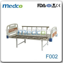 ABS Carbon steel useful hospital flat bed F002