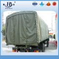 Organic silicon coated waterproof canvas tarpaulin for truck cover