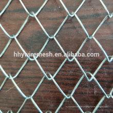 ISO de Alta qualidade pvc revestido de malha de arame de elo da cadeia