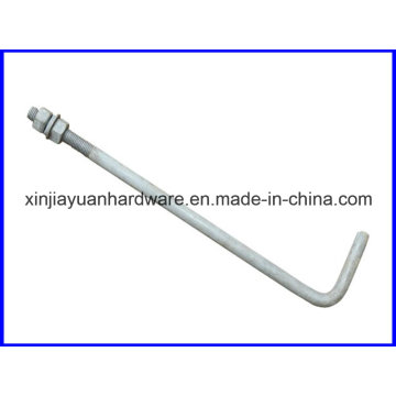 Glatt / verzinkt L Typ Stiftschraube für den Bau