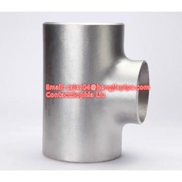 24'' SCH40 seamless butt weld equal tee