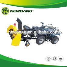 Garden use snow thrower machine for ATV