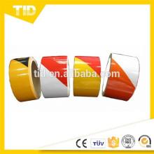 Señal de tráfico Utilice cinta de película reflectante, cinta de la raya, grado comercial
