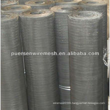 Fine Black Iron Wire Cloth for Rubber(CN-Anping)