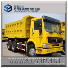 HOWO 6X4 370HP Dump Truck Left Hand Drive 6*4 Tipper Truck