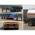 13m Tri-axle Liquefied Gas Tank Trailer Semi