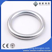 adjustable metal buckle belt slide buckle fashion o-ring belt for boy