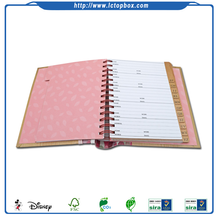 Best Sale Custom Made Fashion Dairy Book