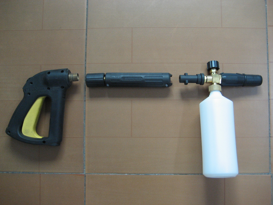 Car Clean Foam Gun