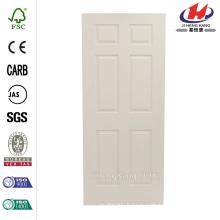 18 in. x 80 in. Woodgrain 3-Panel Primed Molded Interior Door Slab