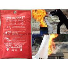 Manta ignífuga de la fibra de vidrio de la emergencia del calor del coche de la cocina del OEM