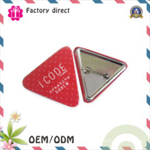 Échantillon gratuit de 10 ans Handowrk Factory Étiquette en étain Badge Safety Pin