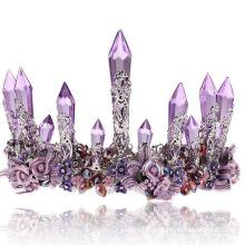 Weeding Brautkristall-Tiara Real Diamond Fashion Tiaras für Frauen