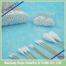 hospital sterile cotton wooden stick oral swab