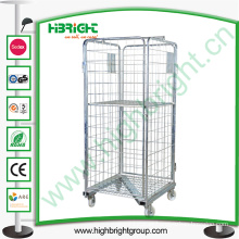 Worehouse Roll Container with Casters