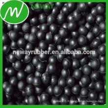 Factory Direct Salable Personnaliser Black Rubber Ball nbr Ball Neoprene Ball