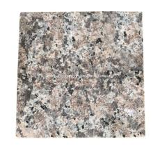 Red natural granite  tile floor