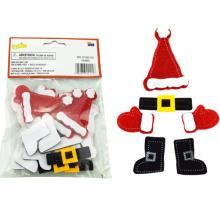 Adhesivo autoadhesivo navideño, pegatinas navideñas gratis, rollo navideño