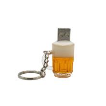 Unidad flash USB especial modelo de taza de cerveza