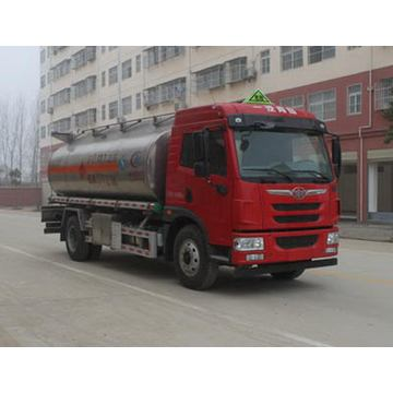 FAW Aluminum Alloy Fuel Transport Tanker Truck