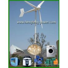 Generador de turbina de viento pequeño de alta eficiencia con aprobación CE y 3 años de garantía