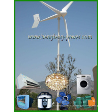 Gerador de turbina de vento pequena de alta eficiência com aprovaçã0 do CE e 3 anos de garantia