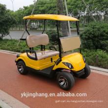 Carro de golf aprobado Ce / carro de golf accionado por gas de dos plazas para la venta