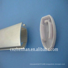 curtain design,curtain accessory,curtain track,curtain rail,bottom tube for roller blind,Aluminium curtain rod