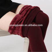 RM94 plus thick velvet step foot outer wear leggings pantyhose warm pants big yards
